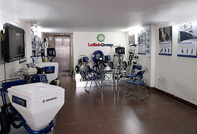 showroom graco miền bắc